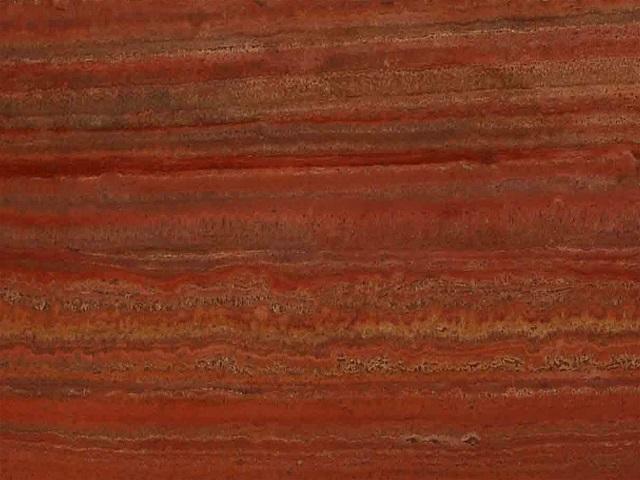 Red Travertine Marble